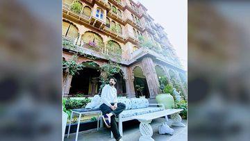 Nakuul Mehta's Wedding Anniversary Pics Are Giving Major Royalty Vibes As He Posts A 'Bikaneri Paradise' Pic