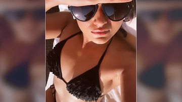 Ileana D'Cruz Gives Fans A View Of Her Perfectly Sculpted Curvaceous Body In A Black Bikini