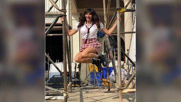 Khatron Ke Khiladi 10 Promo: Karishma Tanna Poses In A School Uniform; Ekta Kapoor Asks 'Which School Is This?'