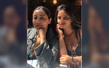 Suhana Khan Borrows A Dress From Mommy Gauri Khan's Wardrobe; Drops A Sexy Pic On Social Media