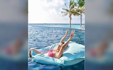 Neha Dhupia Makes Maldives Look Sexier In A Pink Bikini Days After Her Badass Post On The MYSTERY WOMAN With Husband Angad Bedi
