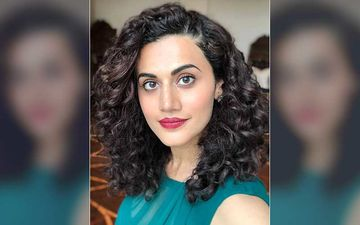 Taapsee Pannu Takes A Jibe At News Channels For Holding The 'Entertainment Fort' During Lockdown; Has A Special Request As Theatres Might Be Allowed To Open