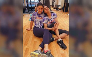 Alia Bhatt Is Feeling 'Soh-Cute' With Bestie Akansha Kapoor, After Rigorous Work-Out Session At The Gym; The BFFS Pose For A Pic