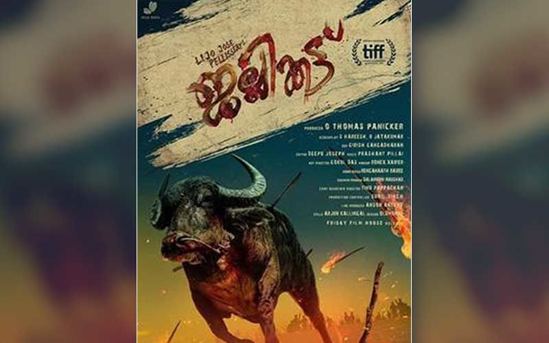 Malayalam Movie Jallikattu Is India's Official Entry To The Oscars; Will Compete In The International Feature Film Category-REPORT