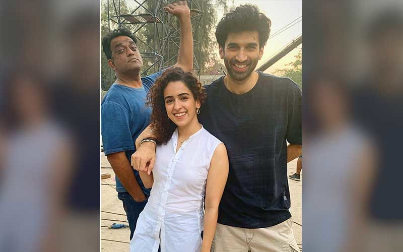 Ludo: Sanya Malhotra And Aditya Roy Kapur Shoot Without A Script; Fans Express Their Excitement Over The Duo's Chemistry