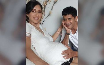 Karanvir Bohra Shares A Video Featuring Preggers Wife Teejay Sidhu's Baby Bump; His Twins Are In Awe As The Baby Wriggles About In Teejay's Tummy -WATCH