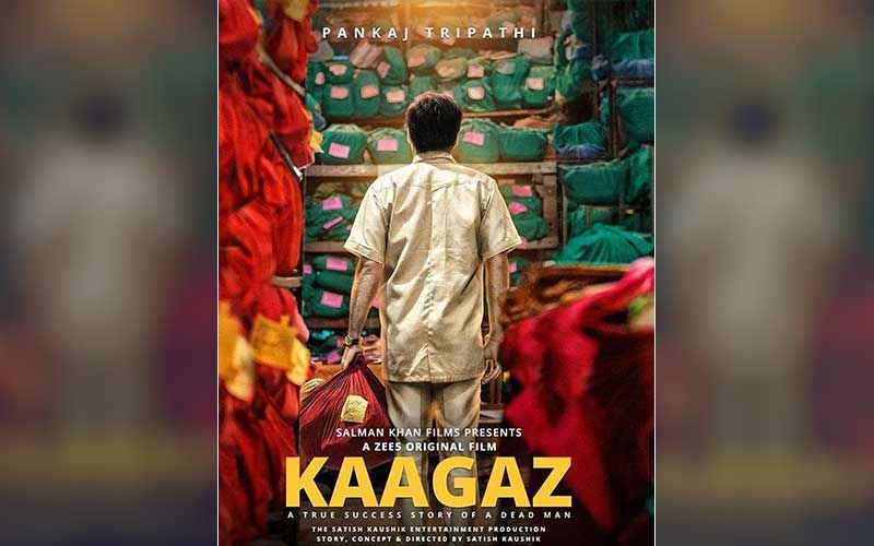 Kaagaz: Pankaj Tripathi Shares The First Look Of His Film Produced By Salman Khan Films; Announces Release Date