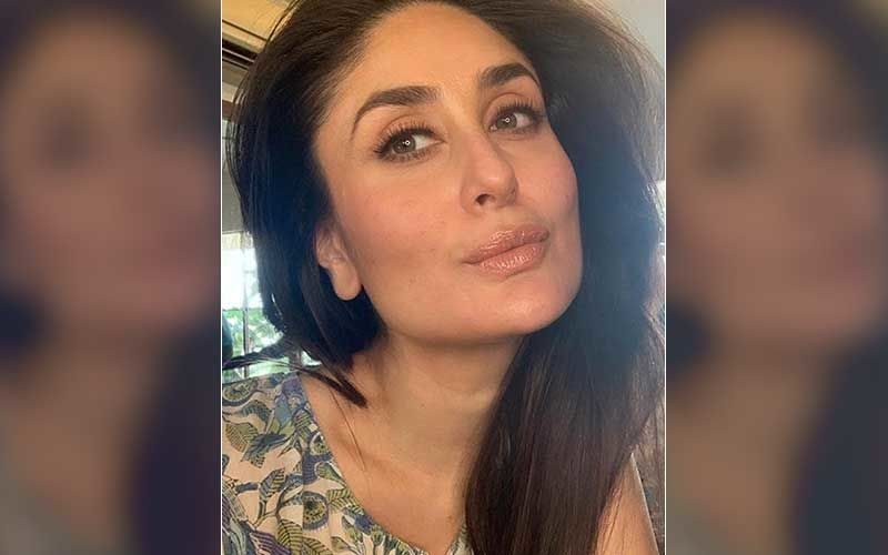 Preggers Kareena Kapoor Khan Bedazzles In A Blue Bodycon Outfit; Flaunts Her Baby Bump - Very Inspirational