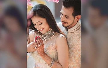 NewlyWed Yuzvendra Chahal Shares UNSEEN Photos With Wife Dhanashree Verma From His Engagement Day; We Cannot Get Our Eyes Off The Big Diamond Ring