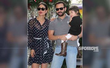 Taimur Ali Khan Heads Out With Saif Ali Khan-Kareena Kapoor Khan; Gives Paps A Furious Yet Cute Look-Pic INSIDE