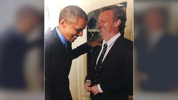 Friends Star Matthew Perry Shares A 'Laughing' Picture With Barack Obama; We Wonder What The Joke Is?