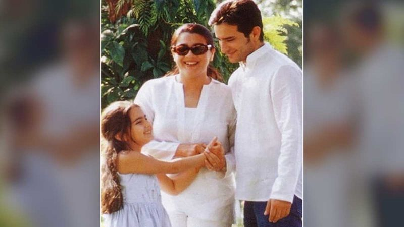 Unseen Picture Of Saif Ali Khan And Amrita Singh With Young Sara Ali Khan Is Too Hard To Be Ignored