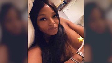 Naomi Campbell Covers Her Nip With A Star Emoji; Shares A Sexy Boob Pop-Out Selfie From Bed - HOT