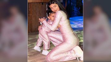 Kylie Jenner's Little Muchkin Stormi Webster Is Growing Up Fast, Can Now Count Numbers Till 10 - Watch