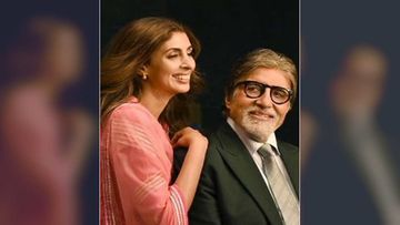 Proud Father Amitabh Bachchan Pens A Heartfelt Post For Shweta Bachchan Nanda, Right After She Unveils Her Fashion Label