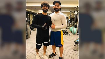 Shahid Kapoor's New Gym Buddy Is Former Indian Hockey Player Sardar Singh; The Latter 'Appreciates His Workout'