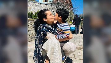 Coronavirus Outbreak: Kangana Ranaut Back In Manali Ahead Of Her Birthday; Her Nephew Is Overjoyed After Meeting His Maasi
