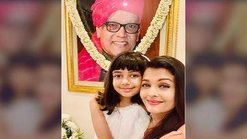 A Teary-Eyed Aishwarya Rai Bachchan Remembers Father Krishnaraj Rai On His Death Anniversary; Shares A Pic With Aaradhya Bachchan