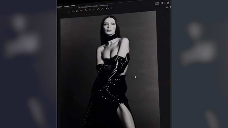 Bella Hadid Shares A Super Sexy Topless BTS Video From Her Shoot; Looks Like An Ultimate Leather Queen