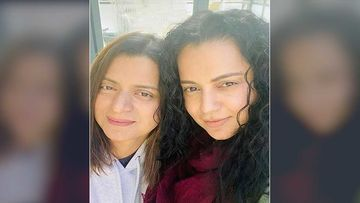 Kangana Ranaut's Sister's Birthday Wish For Her Chotu Is Adorbs; Rangoli Chandel Shares A Cute TB Pic Of The Actress