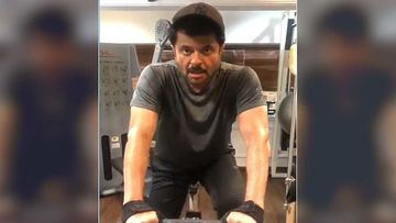 Anil Kapoor Sweats It Out While In Self-Quarantine; Works Out With Trainer At Home-WATCH