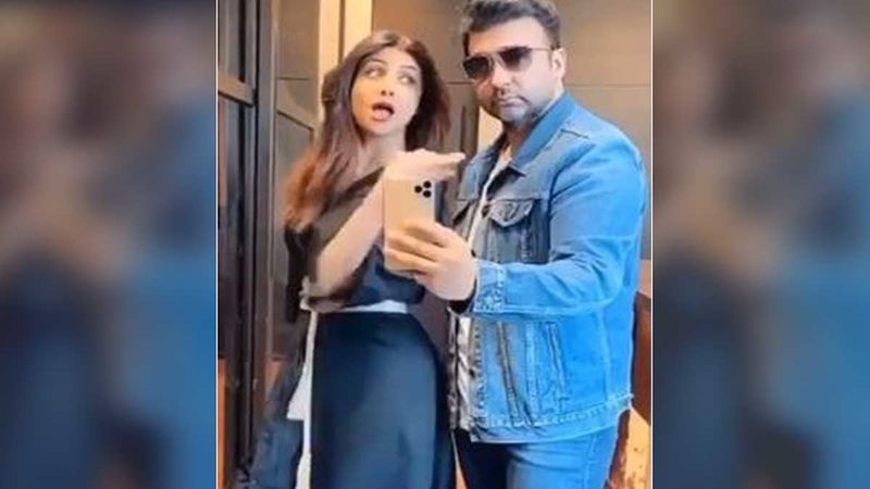 Shilpa Shetty And Raj Kundra Take The #FlipTheSwitch Challenge And The Result Will Leave You In Splits-WATCH