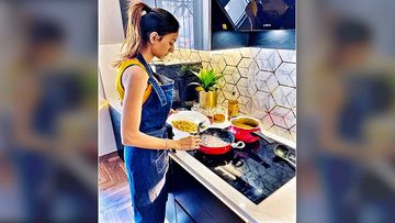 Kasautii Zindagii Kay 2 Actress Erica Fernandes Cooks For Herself During The Lockdown; Says 'Always Cook With Love'