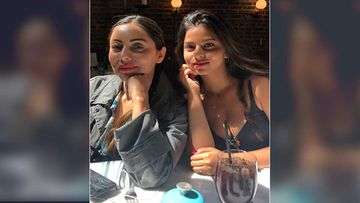 Suhana Khan Strikes A Super Sexy Pose As Gauri Khan Reveals What Indoor Activity The Mother-Daughter Duo Are Busy With-PICTURE INSIDE