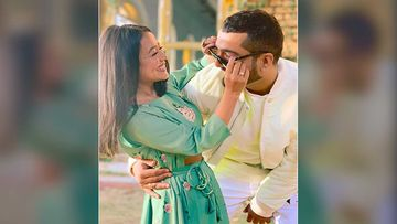 Neha Kakkar Leaves Fans In A Frenzy As She Shares Adorable Pictures With Jinke Liye Lyricist Jaani