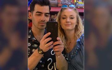 Sophie Turner Does Some Makeup On Hubby Joe Jonas; It's All About The Highlight On The Eyes