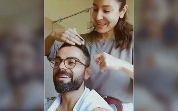 Anushka Sharma Reacts To A Fan Created Bitmoji Featuring Virat Kohli Cutting Her Hair; Says 'Reverse Is Not Happening'