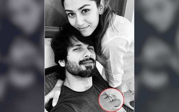 Shahid Kapoor Shares Cosy Moment With Mira Rajput On A Lazy Sunday But We Can't Take Eyes Off The HUGE Rock On Her Finger