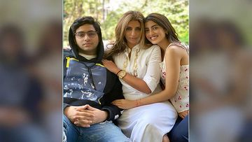 Shweta Bachchan Nanda Shares An Adorable Pic Of Kids Navya And Agastya And We Say They Are Bollywood Ready
