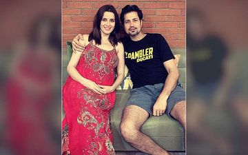 Preggers Ekta Kaul Is Ready-To-Pop, Says 'Our World Is About To Change'; Sumeet Vyas' Gets Busy Decorating The House