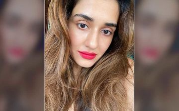 Disha Patani Flaunts Her Radiant Glowing Skin As She Goes All Bold With Her Red Lips; Fans Call Her Khoobsurat