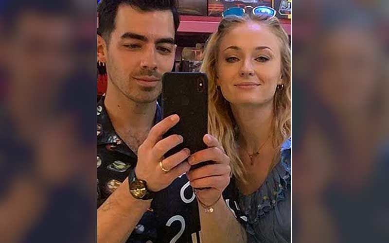 Sophie Turner Raises The Temperature Wearing A Plunging Halter-Neck Top; Hubby Joe Jonas Can't Handle The Hotness – See Pic