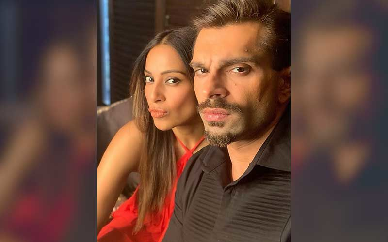 Bipasha Basu Gives A Glimpse Of Her Vegan Husband's Food Choices; Check Out The Yummy Burgers Karan Singh Grover Is Eating