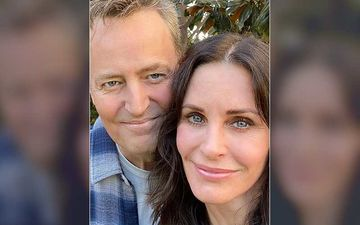 Courteney Cox AKA Monica Of FRIENDS Has The Most Adorable Birthday Wish For Matthew Perry AKA Chandler; Shares A Priceless Throwback Pic