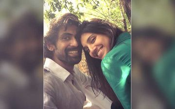Rana Daggubati Posts A Pic With To-Be Wife Miheeka Bajaj From Their Haldi Ceremony; Thanks Everyone As His Life Moves Forward With Smiles
