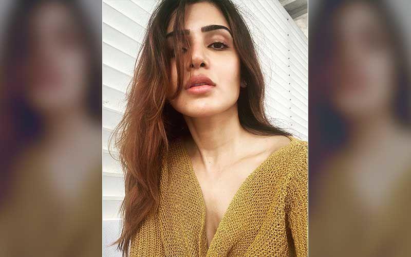 Samantha Akkineni Shines And Poses Like A Diva As She Got Decked Up For Rana Daggubati-Miheeka Bajaj's Haldi-Pics INSIDE