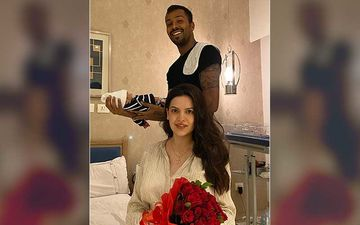 Hardik Pandya's Son Agastya Is 'Daddy's Lil One' And There's No Doubt About It; New Mom Natasa Stankovic Shares A Cutesy Pic