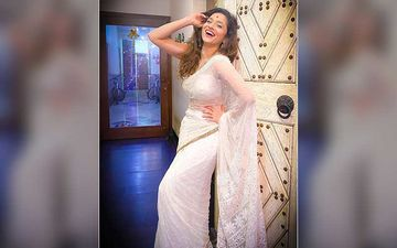 Ankita Lokhande Shares A Smiling Pic In A White Saree; Reveals The Secret Of 'How To Be Happy'