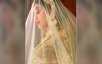 Janhvi Kapoor Looks Mesmerizing In Bridal Avatar, Says 'Can You Hear The Shehnai Playing Or It Is Just Me'