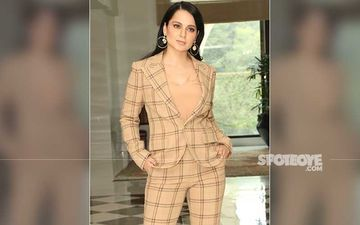 Kangana Ranaut Reaches Her Khar Residence In Mumbai Amid High Security- Reports