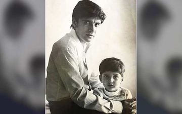 Javed Akhtar Birthday: Farhan Akhtar Shares An UNSEEN Throwback Photo Of His Dad; Showers Love And Wishes His Pa
