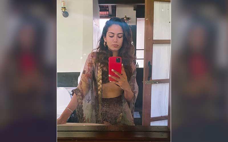 Mira Rajput Wears A Sexy Sculpted Magenta Bikini In Goa; Gives A Peek At Her Curves In A Mirror Selfie