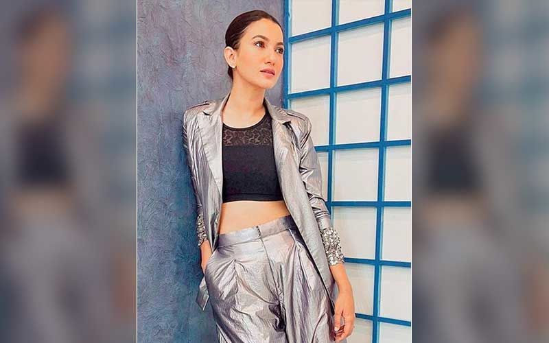 Gauahar Khan Bedazzles In A Metallic Pantsuit For Tandav's Launch Night; Here's How Much The Outfit Costs