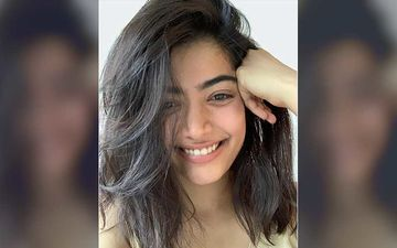 Rashmika Mandanna Was Spotted In Mumbai; Actor Looked Blissful After Getting Done With Prep Of Film Mission Majnu