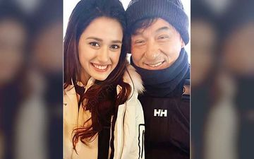 Disha Patani Shares UNSEEN Throwback Pics With Jackie Chan As Kung Fu Yoga Clocks 4 Years; Recalls The Happiest Day Of Her Life