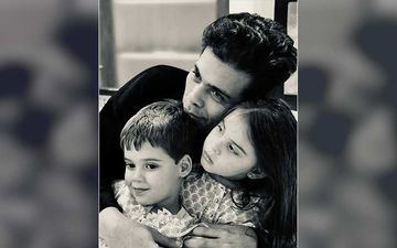 Karan Johar Drops A Heartwarming Pic With Twins Yash And Roohi; Says 'It Wasn't An Easy Year But There Were Many Lessons'